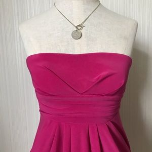 Kismet Strapless Dress with Pockets
